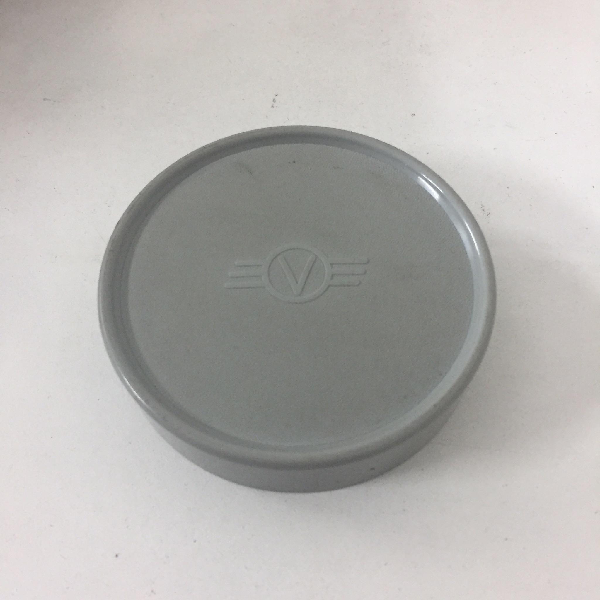 V logo Front lens cap